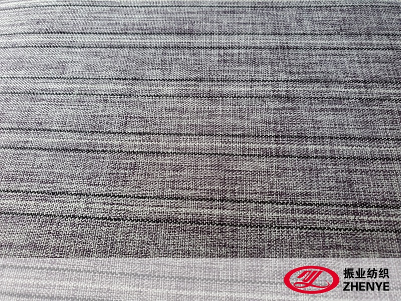 300D Linen Type Cationic Fabric PVC