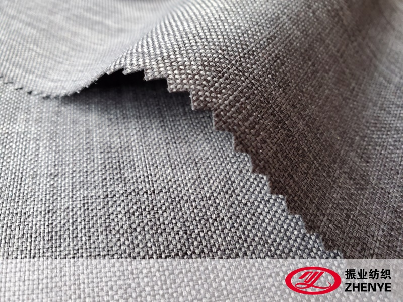 600D Linen Type Cationic Fabric PVC